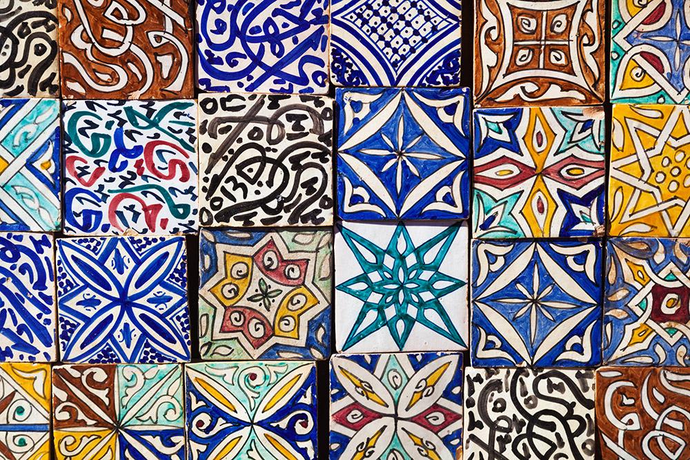 Marokkaanse Tegels Keuken : Marokkaanse tegels