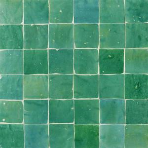 marokkaanse tegels groen tegelzetter